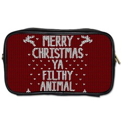 Ugly Christmas Sweater Toiletries Bags