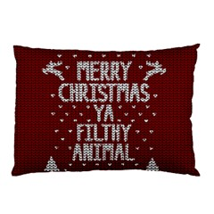 Ugly Christmas Sweater Pillow Case (two Sides)