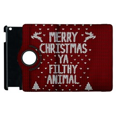 Ugly Christmas Sweater Apple Ipad 2 Flip 360 Case