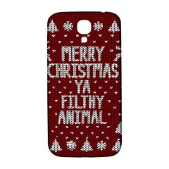 Ugly Christmas Sweater Samsung Galaxy S4 I9500/i9505  Hardshell Back Case