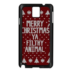 Ugly Christmas Sweater Samsung Galaxy Note 3 N9005 Case (black)