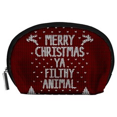 Ugly Christmas Sweater Accessory Pouches (large)