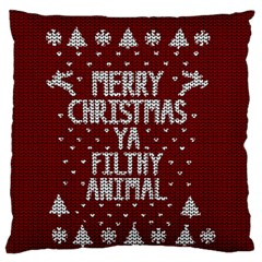 Ugly Christmas Sweater Standard Flano Cushion Case (one Side)