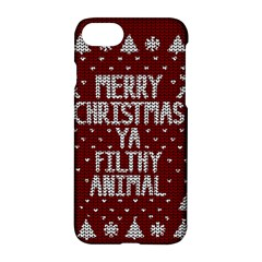 Ugly Christmas Sweater Apple Iphone 7 Hardshell Case