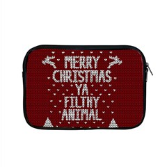 Ugly Christmas Sweater Apple Macbook Pro 15  Zipper Case