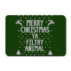 Ugly Christmas Sweater Small Doormat