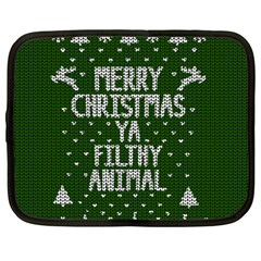 Ugly Christmas Sweater Netbook Case (large)