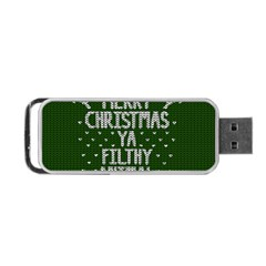 Ugly Christmas Sweater Portable Usb Flash (two Sides)