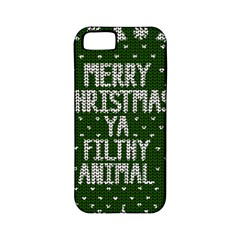 Ugly Christmas Sweater Apple Iphone 5 Classic Hardshell Case (pc+silicone)