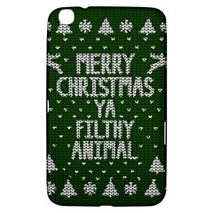 Ugly Christmas Sweater Samsung Galaxy Tab 3 (8 ) T3100 Hardshell Case