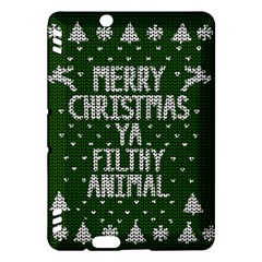 Ugly Christmas Sweater Kindle Fire Hdx Hardshell Case