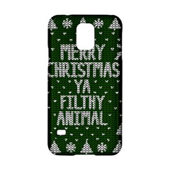 Ugly Christmas Sweater Samsung Galaxy S5 Hardshell Case