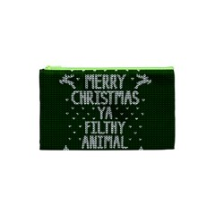 Ugly Christmas Sweater Cosmetic Bag (xs)