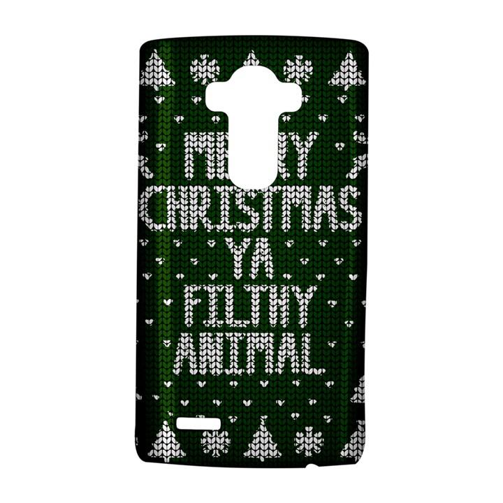 Ugly Christmas Sweater LG G4 Hardshell Case