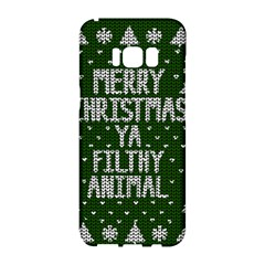 Ugly Christmas Sweater Samsung Galaxy S8 Hardshell Case