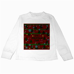 Ugly Christmas Sweater Kids Long Sleeve T Shirts