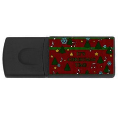 Ugly Christmas Sweater Rectangular Usb Flash Drive