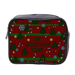 Ugly Christmas Sweater Mini Toiletries Bag 2 Side