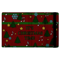 Ugly Christmas Sweater Apple Ipad 2 Flip Case