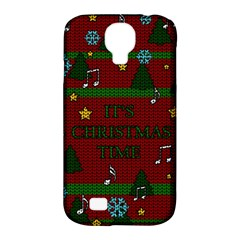 Ugly Christmas Sweater Samsung Galaxy S4 Classic Hardshell Case (pc+silicone)