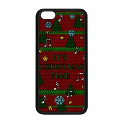 Ugly Christmas Sweater Apple Iphone 5c Seamless Case (black)