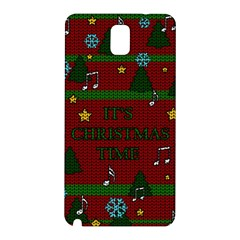 Ugly Christmas Sweater Samsung Galaxy Note 3 N9005 Hardshell Back Case