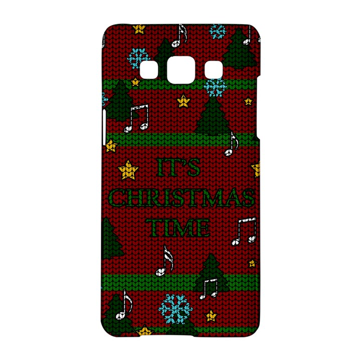 Ugly Christmas Sweater Samsung Galaxy A5 Hardshell Case