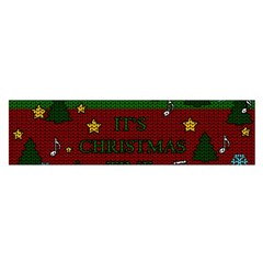 Ugly Christmas Sweater Satin Scarf (oblong)