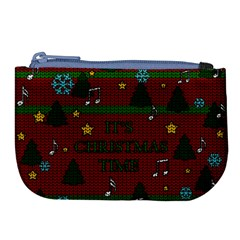 Ugly Christmas Sweater Large Coin Purse