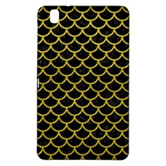 Scales1 Black Marble & Yellow Leather (r) Samsung Galaxy Tab Pro 8 4 Hardshell Case