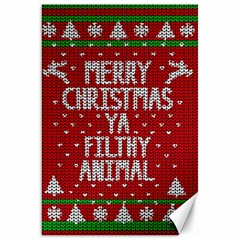 Ugly Christmas Sweater Canvas 20  X 30