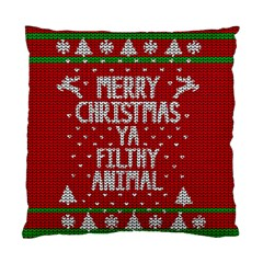 Ugly Christmas Sweater Standard Cushion Case (one Side)