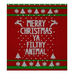 Ugly Christmas Sweater Shower Curtain 66  X 72  (large)