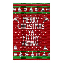 Ugly Christmas Sweater Shower Curtain 48  X 72  (small)