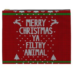 Ugly Christmas Sweater Cosmetic Bag (xxxl)