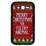Ugly Christmas Sweater Samsung Galaxy Grand DUOS I9082 Case (Black) Front