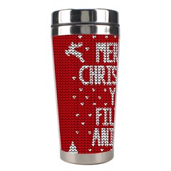 Ugly Christmas Sweater Stainless Steel Travel Tumblers
