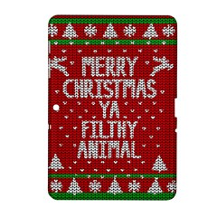 Ugly Christmas Sweater Samsung Galaxy Tab 2 (10 1 ) P5100 Hardshell Case