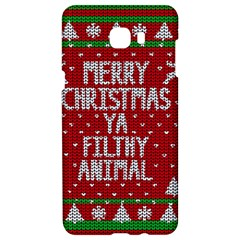 Ugly Christmas Sweater Samsung C9 Pro Hardshell Case