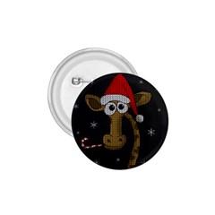 Christmas Giraffe  1 75  Buttons