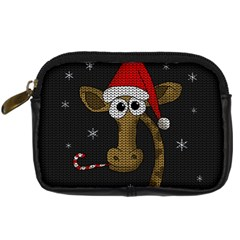 Christmas Giraffe  Digital Camera Cases