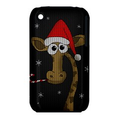 Christmas Giraffe  Iphone 3s/3gs