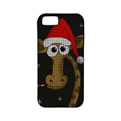Christmas Giraffe  Apple Iphone 5 Classic Hardshell Case (pc+silicone)