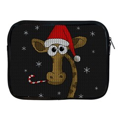 Christmas Giraffe  Apple Ipad 2/3/4 Zipper Cases
