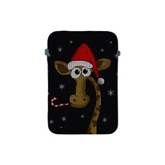 Christmas Giraffe  Apple Ipad Mini Protective Soft Cases