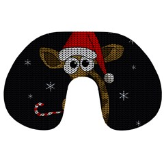 Christmas Giraffe  Travel Neck Pillows