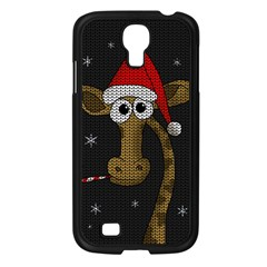 Christmas Giraffe  Samsung Galaxy S4 I9500/ I9505 Case (black)