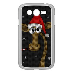 Christmas Giraffe  Samsung Galaxy Grand Duos I9082 Case (white)