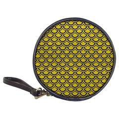 Scales2 Black Marble & Yellow Leather Classic 20 Cd Wallets