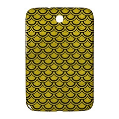 Scales2 Black Marble & Yellow Leather Samsung Galaxy Note 8 0 N5100 Hardshell Case